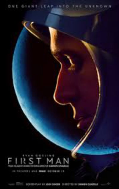 First Man Poster Courtesy of Universal Pictures