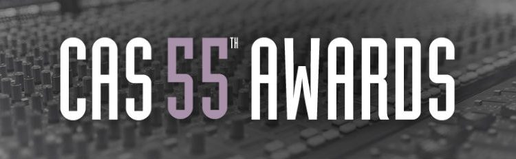 CAS 55th Awards for Sound Mixing 2018