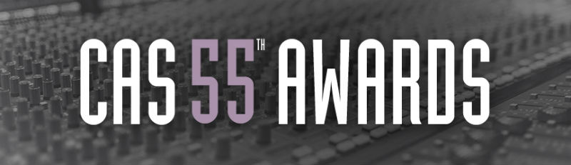 CAS 55th Awards, Achievement in Sound Mixing for 2018